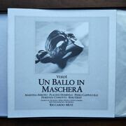 Double LP - Giuseppe Verdi - Un Ballo In Maschera - with libretto