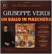 LP - Giuseppe Verdi - Un Ballo In Maschera