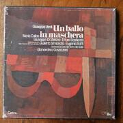 LP-Box - Giuseppe Verdi - Un ballo in maschera - Hardcover Box