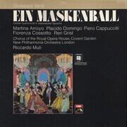 LP - Verdi, Riccardo Muti, Martina Arroyo, Reri Grist - Ein Maskenball