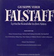 Double LP - Giuseppe Verdi, Hans Hotter, Henny Neumann-Knapp - Falstaff
