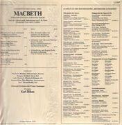 LP - Giuseppe Verdi, Karl Böhm - Macbeth