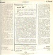 LP - Giuseppe Verdi, Leonard Warren, Leonie Rysanek - Macbeth