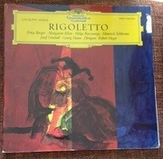 Double LP - Giuseppe Verdi - Rigoletto - Gatefold Sleeve