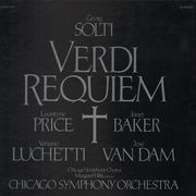 Double LP - Giuseppe Verdi - Requiem (Georg Solti)