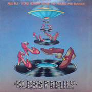 LP - Glass Family, The Glass Family - Mr DJ ? You Know How To Make Me Dance - black vinyl version