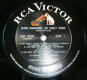 LP - Glenn Yarbrough - The Lonely Things
