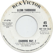 7inch Vinyl Single - Glenn Yarbrough - The Lonely Things