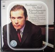 LP-Box - Beethoven - Die Fünf Klavierkonzerte (Glenn Gould )