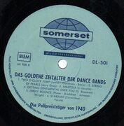 LP - Glenn Miller, Harry James, Artie Shaw, Tommy Dorsey, Benny Goodman a.o. - The Golden Age Of The Dance Bands