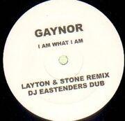 12'' - Gloria Gaynor - I Am What I Am - WHITE LABEL