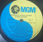 LP - Gloria Gaynor - Experience