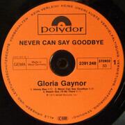 12inch Vinyl Single - Gloria Gaynor - Never Can Say Goodbye