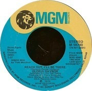 7inch Vinyl Single - Gloria Gaynor - Reach Out, I'll Be There