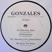 12inch Vinyl Single - Gonzales - (Another) So-Called Party