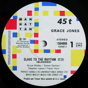 12inch Vinyl Single - Grace Jones - Slave To The Rhythm