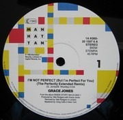 12'' - Grace Jones - I'm Not Perfect (But I'm Perfect For You)