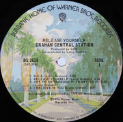 LP - Graham Central Station - Release Yourself - Terre Haute Pressing