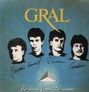 LP - Gral - The Man From The Moon - Autographed