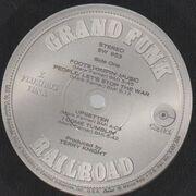 LP - Grand Funk Railroad - E Pluribus Funk - ROUND COVER