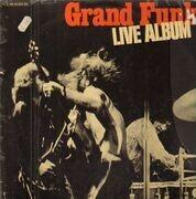 Double LP - Grand Funk Railroad - Live Album