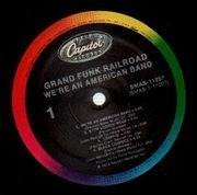 LP - Grand Funk - We're An American Band