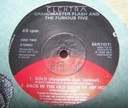 12'' - Grandmaster Flash & The Furious Five - Gold