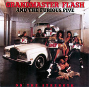 CD - Grandmaster Flash & The Furious Five - On The Strength
