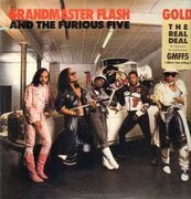 12inch Vinyl Single - Grandmaster Flash & The Furious Five - Gold