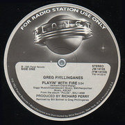 12'' - Greg Phillinganes - Playin' With Fire