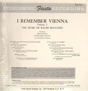 LP - Greta Keller, Peter Heinz Kersten... - I Remember Vienna - The Music of Ralph Benatzky
