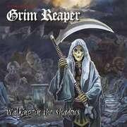 LP - Grim Reaper - Walking In The Shadows (white/Red Vinyl)