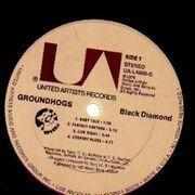 LP - groundhogs - Black Diamond
