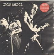 Double LP - Groundhogs - Hoggin The Stage - + Live 7inch Vinyl SingleEP