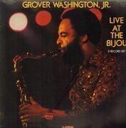 Double LP - Grover Washington, Jr. - Live At The Bijou - Still Sealed