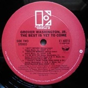 LP - Grover Washington, Jr. - The Best Is Yet To Come
