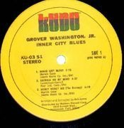 LP - Grover Washington, Jr. - Inner City Blues