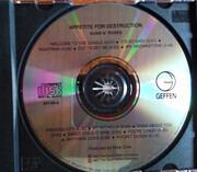 CD - Guns N' Roses - Appetite For Destruction