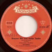7inch Vinyl Single - Gus Backus - Brauner Bär Und Weiße Taube / Blue Boy