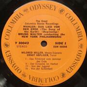 LP - Gustav Mahler - Bruno Walter , The New York Philharmonic Orchestra , Mildred Miller , Ernst Haeflig - Das Lied Von Der Erde