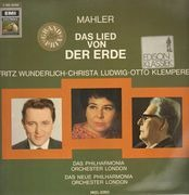 LP - Gustav Mahler - Christa Ludwig , Fritz Wunderlich , Philharmonia Orchestra , New Philharmonia Orche - Das Lied Von Der Erde - Gatefold-Sleeve