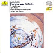 LP - Gustav Mahler - Christa Ludwig , René Kollo , Berliner Philharmoniker , Herbert von Karajan - Das Lied Von Der Erde