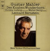 LP - Mahler / Ludwig, Berry, Bernstein, The New York Philh. - Des Knaben Wunderhorn