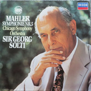 LP - Gustav Mahler - Georg Solti , The Chicago Symphony Orchestra - Symphony No. 5 - DMM