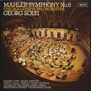 Double LP - Gustav Mahler - Georg Solti , The Chicago Symphony Orchestra - Symphony No. 8 - Hardcover Box