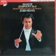 LP - Gustav Mahler/ Israel Philharmonic Orchestra , Zubin Mehta - Symphony No. 4 in G major