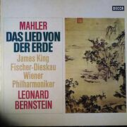 LP - Gustav Mahler - James King , Dietrich Fischer-Dieskau , Wiener Philharmoniker , Leonard Bernstein - Das Lied Von Der Erde - Gatefold