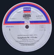 LP - Gustav Mahler - Kiri Te Kanawa , The Chicago Symphony Orchestra , Georg Solti - Symphony No. 4