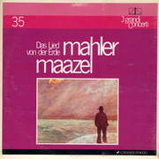 LP - Gustav Mahler - Lorin Maazel , Orchestra Del Teatro La Fenice - Das Lied Von Der Erde