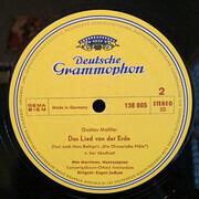 LP - Gustav Mahler - Das Lied Von Der Erde